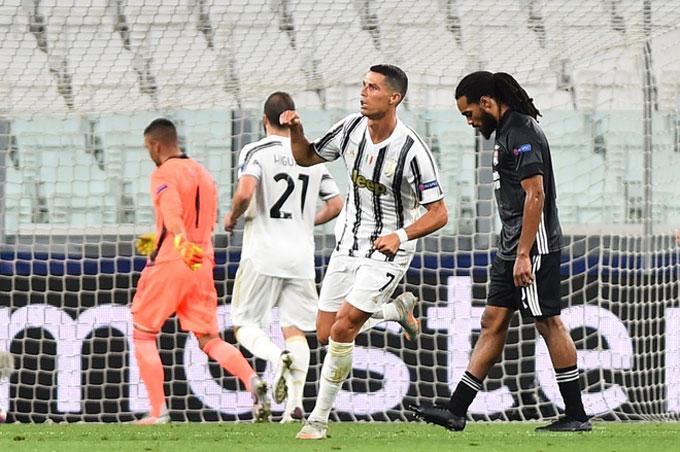 Ronaldo tỏa sáng nhưng Juventus vẫn bị loại