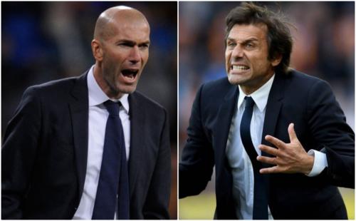 Zidane và Conte là 2 ứng viên sáng giá thay Sarri lúc này