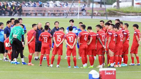 HLV Park Hang Seo sẽ gọi nhiều tân binh lên ĐT Việt Nam