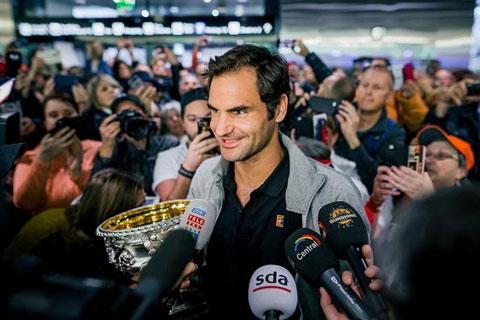 Sir Alex từng lấy những video của Federer làm cảm hứng cho học trò