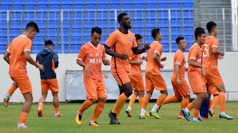 Đội bóng SHB Đà Nẵng vẫn đang cách ly tại chỗ