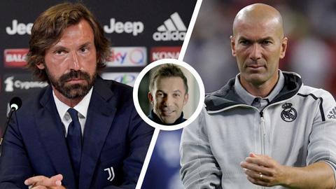 'Pirlo có thể trở thành một huấn luyện viên vĩ đại hơn Zidane' - xs thứ hai