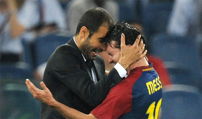 Messi là quân bài quan trọng bậc nhất mà HLV Guardiola từng có
