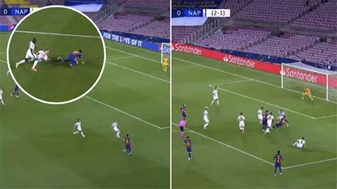 5 điểm nhấn từ chiến thắng 3-1 của Barca trước Napoli