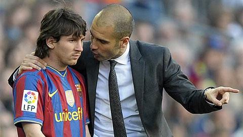Pep phải cảm ơn... Messi nếu Man City vô địch Champions League