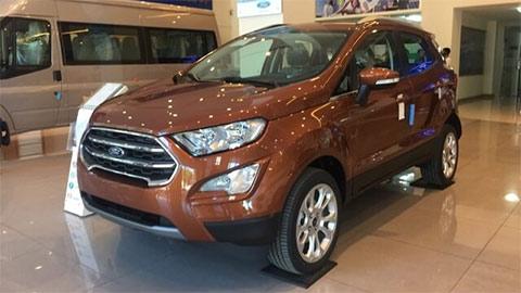 Ford EcoSport tại VN giảm giá cực mạnh nhằm 'xả hàng', đấu Hyundai Kona, Kia Seltos, Honda HR-V