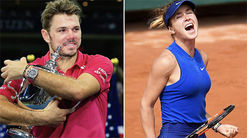Người đẹp Svitolina, Wawrinka đồng loạt bỏ US Open 2020