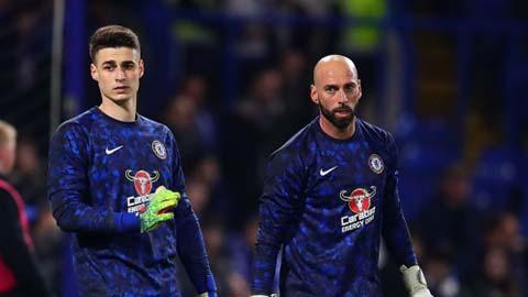 Chelsea: Không tin Kepa, cũng chẳng dám dựa vào Caballero