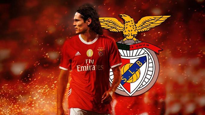Cavani sắp khoác áo Benfica sau khi rời PSG