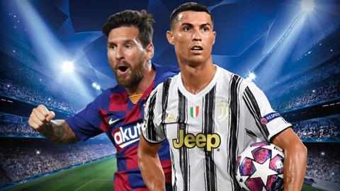 Messi và Ronaldo: Người cười, kẻ khóc sau vòng 1/8 Champions League
