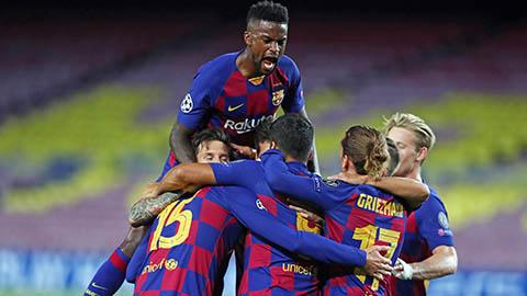 Barca kiếm bộn tiền nhờ lần thứ 13 vào tứ kết Champions League