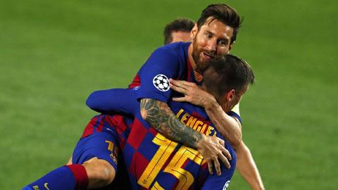 Barca lọt vào tứ kết: Messi, vị thần cứu rỗi Barca