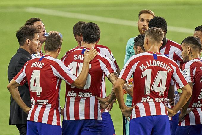 Hai cầu thủ dính Covid-19, Atletico có thể bị loại khỏi Champions League?