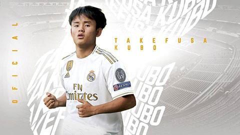 """""""Messi Nhật Bản"""" lại bị đẩy khỏi Real"""