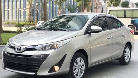 Toyota Vios 2020 có giá lăn bánh siêu hấp dẫn trong tháng 8 - đối thủ của Honda City, Hyundai Accent
