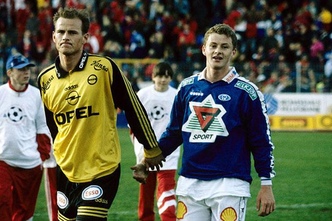 Stale và Solskjaer thời còn là cầu thủ
