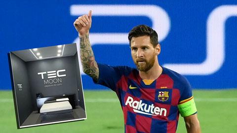 Messi chi 900 bảng mua siêu nệm chống Covid-19