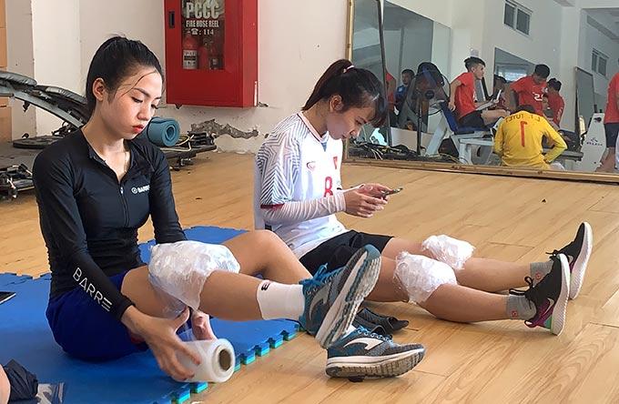 """Trần Thị Duyên chia sẻ: """"Bác sỹ Choi rất quan tâm đến chấn thương và điều trị hồi phục rất tốt với những bài tập hợp lý"""""""