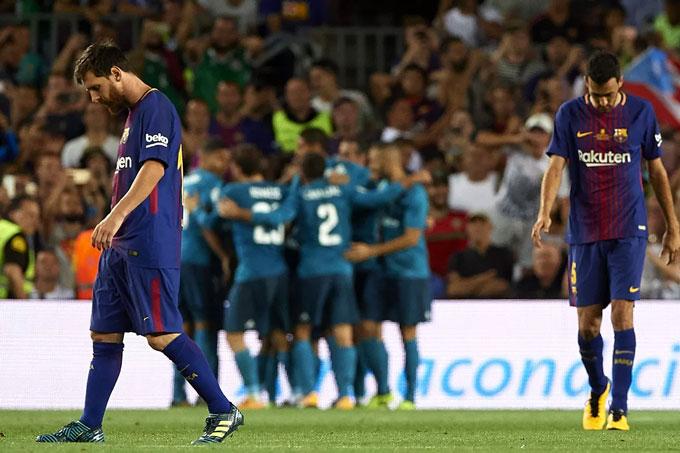 Barca nhiều năm qua chơi bóng rất thiếu cường độ