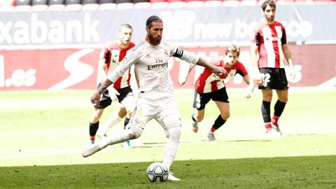 Real sẽ gia hạn thêm 2 năm với Ramos