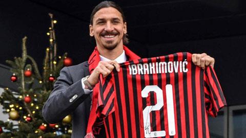 Milan gia hạn hợp đồng thành công với Ibrahimovic