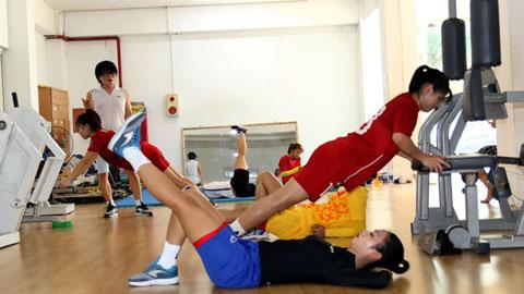 Bác sỹ Choi Ju Young: 'Tinh thần tập luyện của cầu thủ nữ là rất cao'