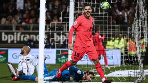 Lối đá pressing tầm cao của Atalanta sẽ biến hàng thủ lỏng lẻo trở thành mồi ngon cho các chân sút bên phía PSG như Mauro Icardi