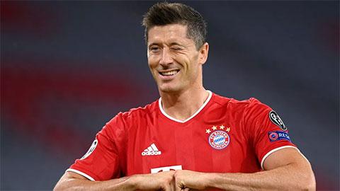 Lewandowski ghi bàn hơn cả đội Barca ở Champions League mùa này - kết quả xổ số bình định