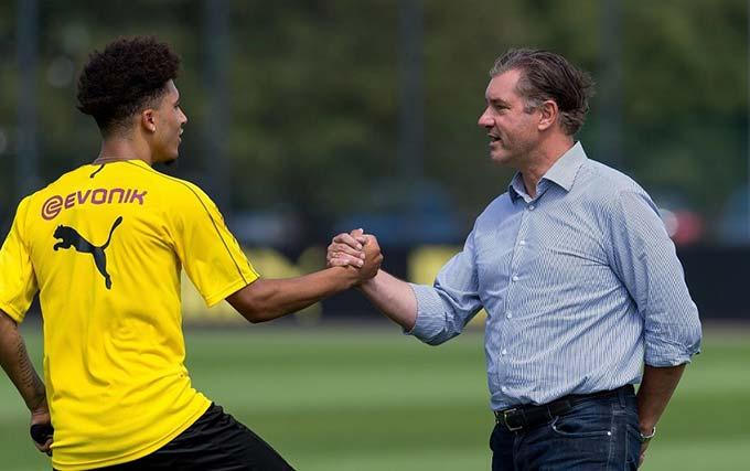Dortmund đang rất cẩn thận với Sancho