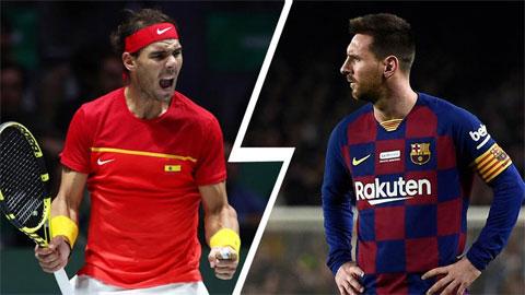 Nadal vượt mặt Messi về lựa chọn nhà lãnh đạo lý tưởng