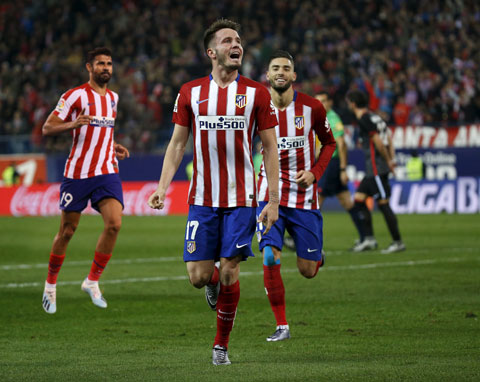 Atletico tràn đầy cơ hội giành chiến thắng trong trận đấu đêm nay