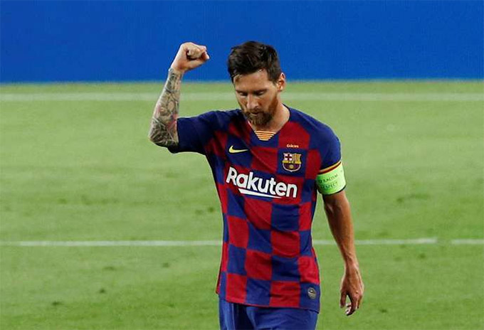 Messi vừa giành giải vua phá lưới và vua kiến tạo ở La Liga mùa vừa rồi