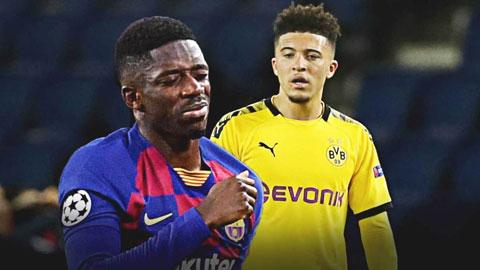 M.U bị cả Dortmund lẫn Barca ép giá