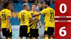 Altach 0-6 Borussia Dortmund (Giao hữu CLB 2020)