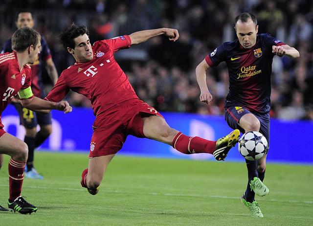 Javi Martinez đã chơi rất hay trong những lần đối đầu với Barca