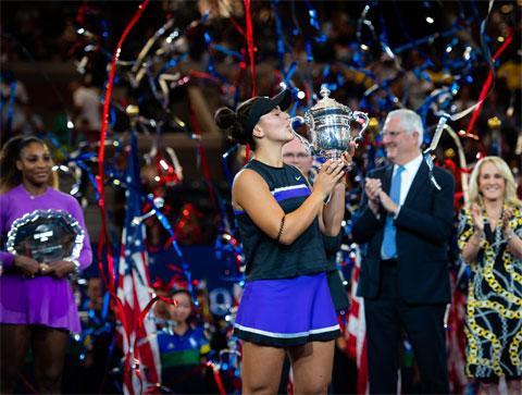 Bianca Andreescu đoạt Grand Slam đầu tiên với chức vô địch US Open 2019