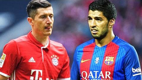 Lewandowski vs Suarez: Chính - tà giao đấu