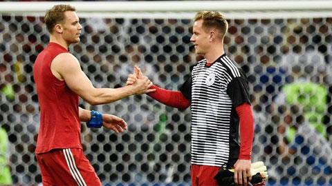 Neuer so găng Ter Stegen: Trận chiến giữa Ronaldo với Messi trong khung gỗ