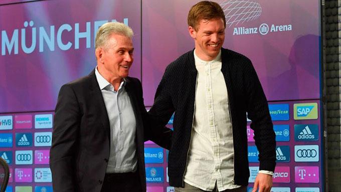 Nagelsmann nhận được sự tôn trọng của HLV Heynckes