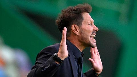 Thầy trò Simeone không ngạc nhiên về thất bại của Atletico