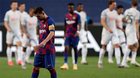 Những thất bại cay đắng nhất mà Barca từng phải nhận
