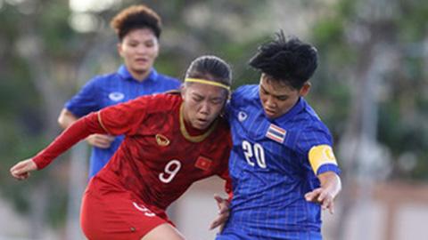 ĐT nữ Việt Nam tiếp tục trên tầm Thái Lan