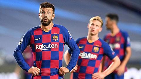 Setien né tránh tương lai, Pique xung phong rời Barca