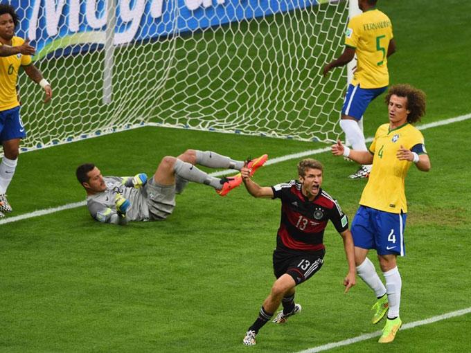 Mueller là nhân tố chính trong chiến thắng 7-1 của ĐT Đức trước ĐT Brazil