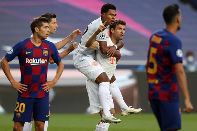 Và anh lại vừa khiến Barca nhận thất bại đau đớn nhất lịch sử Champions League