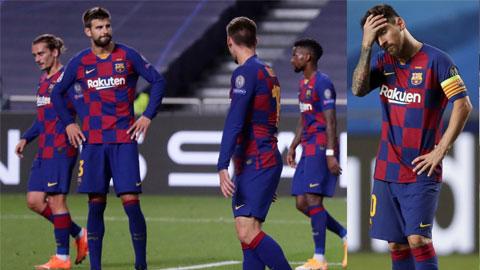 Barca đại bại 2-8 trước Bayern: Đã đến lúc Barca phải đập đi  xây lại