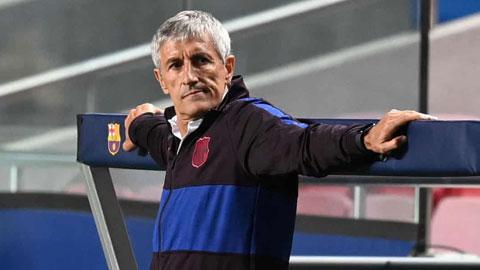 HLV Quique Setien bất lực nhìn Barca bị Bayern nghiền nát với tỷ số 8-2