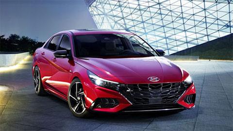 Hyundai Elantra N Line 2021 ra mắt với kiểu dáng tuyệt đẹp, động cơ Turbo, đấu Mazda 3, Kia Cerato