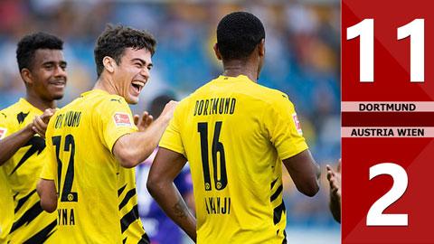 Dortmund 11-2 Austria Wien (Giao hữu CLB)