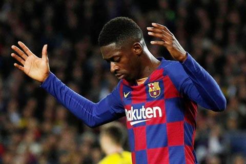 Thương vụ Ousmane Dembele là một trong những thất bại thảm hại trong chính sách chuyển nhượng của Barca